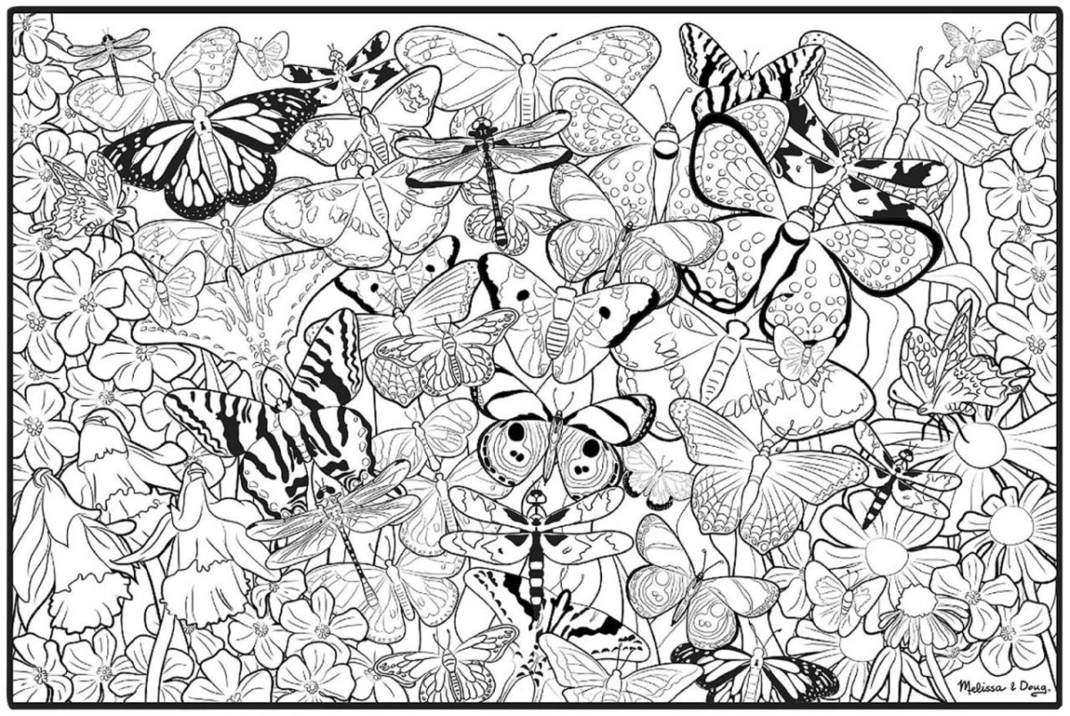 Free Coloring Pages For Adults To Print Free Printable Butterfly Coloring Pages Adults Wuming Birijus Com