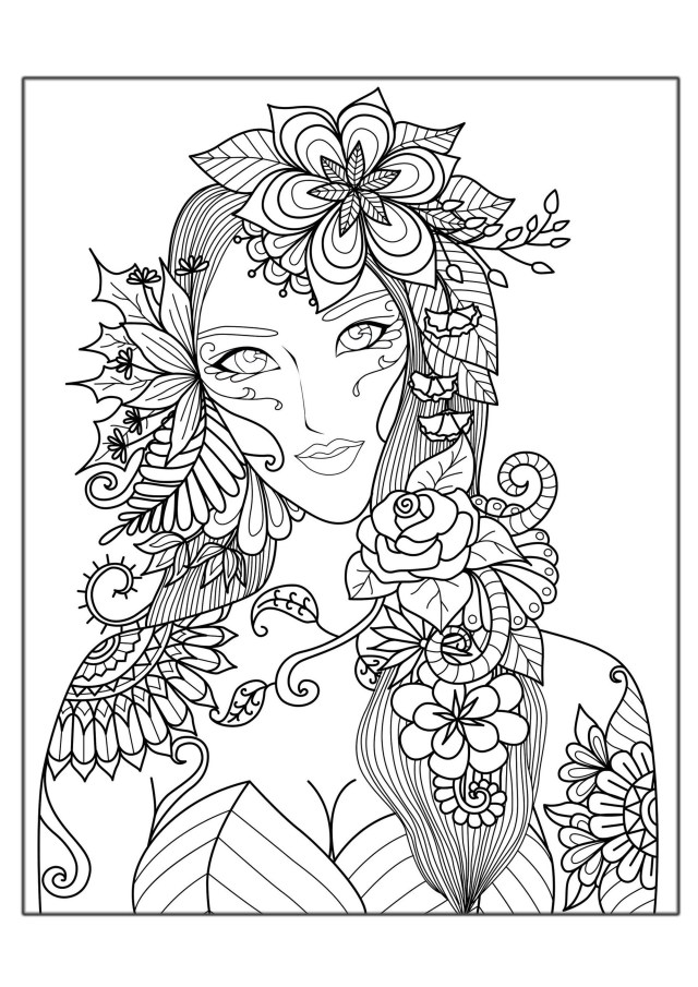 Free Coloring Pages For Adults To Print Hard Coloring Pages For Adults Best Coloring Pages For Kids