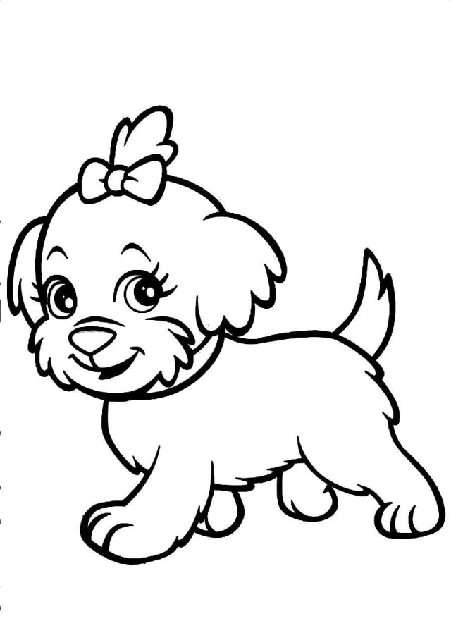 Free Dog Coloring Pages Free Coloring Pages Dogs Wuming