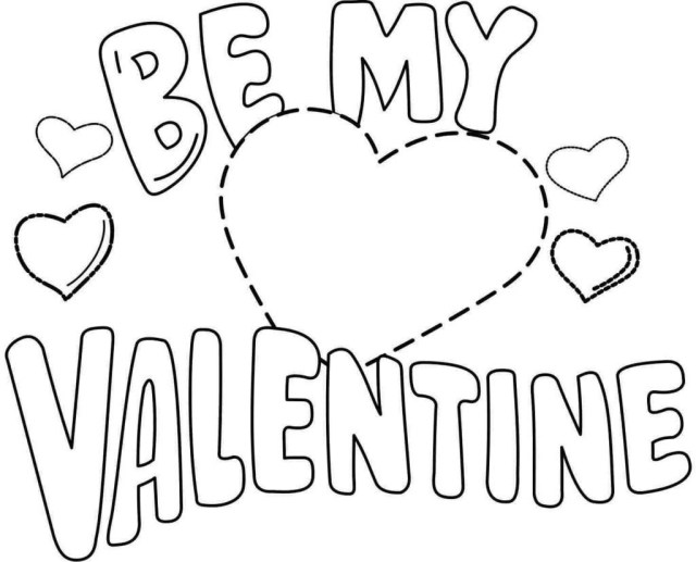 Free Valentines Day Coloring Pages Valentine Day Coloring Pages Free Valentines Numbers Best Of 7 Idig