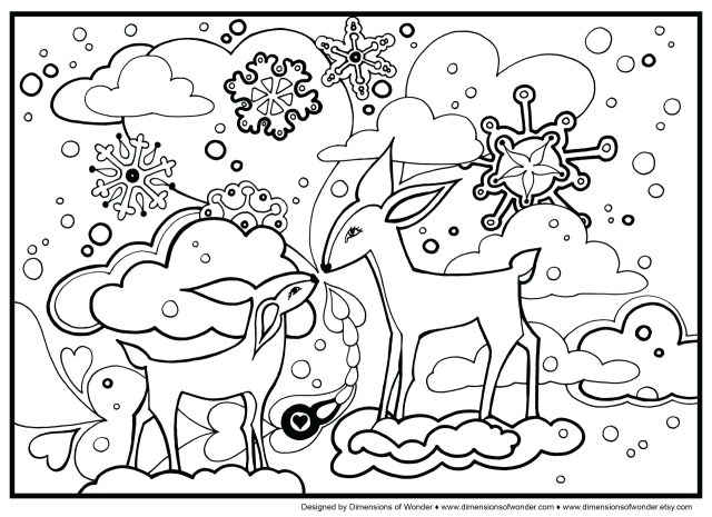 Free Winter Coloring Pages Winter Printables For Preschool Free Preschool Coloring Pages Free