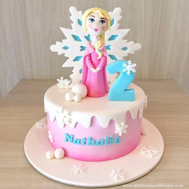 Magnificent 32 Elegant Image Of Frozen Birthday Cake Ideas Birijus Com Funny Birthday Cards Online Overcheapnameinfo
