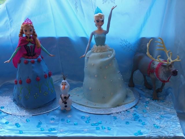 Frozen Birthday Cake Ideas Disney Frozen Birthday Cakes Here Come The Girls