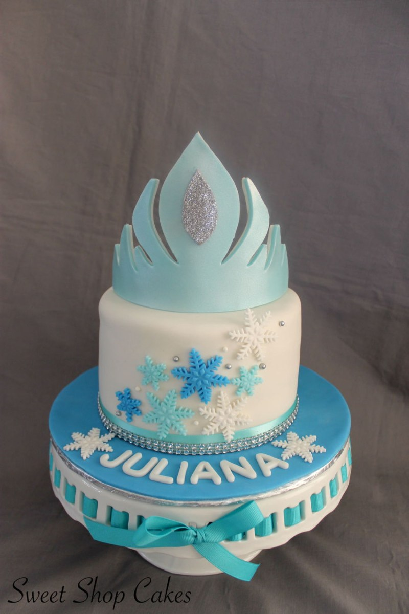 Pleasing Frozen Birthday Cake Ideas Frozen Themed Birthday Cake Cakecentral Personalised Birthday Cards Rectzonderlifede