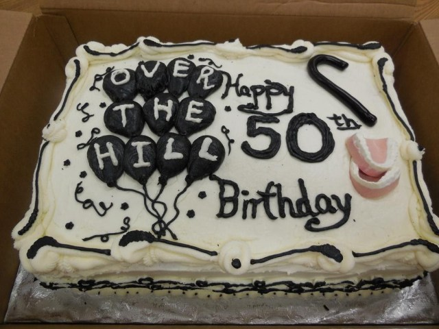 Funny 50Th Birthday Cakes 50th Cake Decoration Ideas Just Sweets