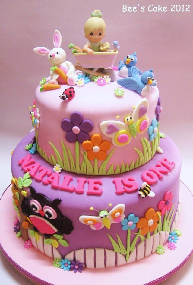 Girls Birthday Cake Ideas Toddler 1st Birthday Cake Please Check Out My Website Thanks Www