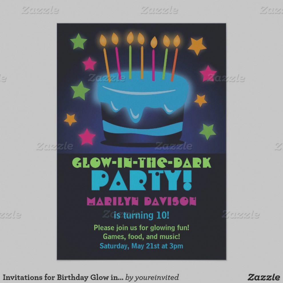 Admirable Glow In The Dark Birthday Cake Wonderful Glow In The Dark Birthday Funny Birthday Cards Online Eattedamsfinfo