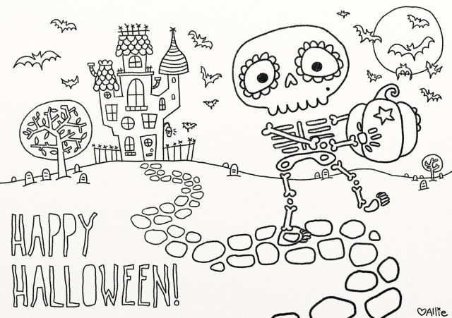 Halloween Coloring Pages Printables 9 Fun Free Printable Halloween Coloring Pages Printable Halloween