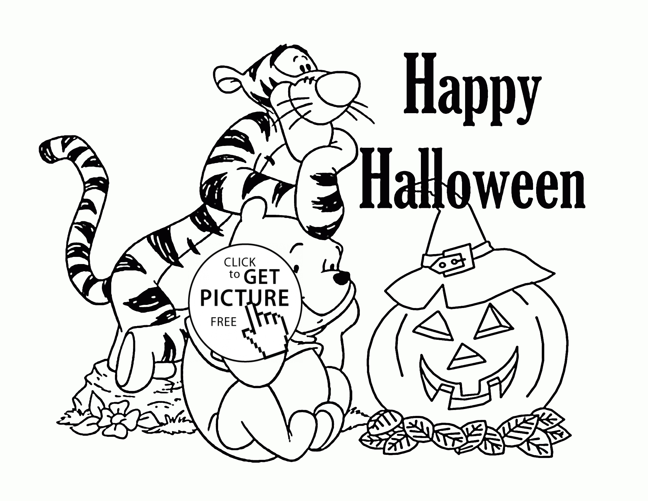 - 23+ Brilliant Picture Of Halloween Coloring Pages Printables - Birijus.com