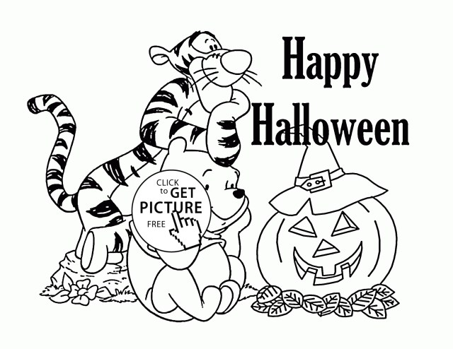 Halloween Coloring Pages Printables Halloween Coloring Pages To Print Vietti