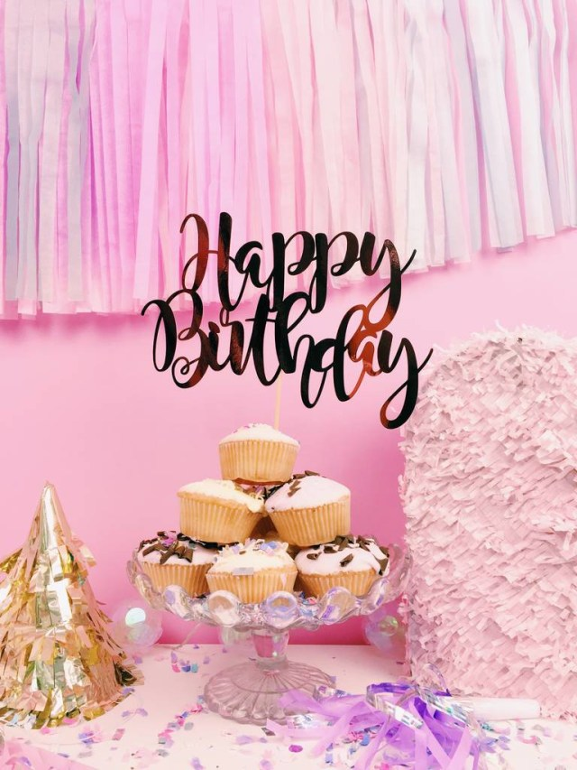 Happy Birthday Cake Pics Happy Birthday Cake Topper All Her Glory Notonthehighstreet