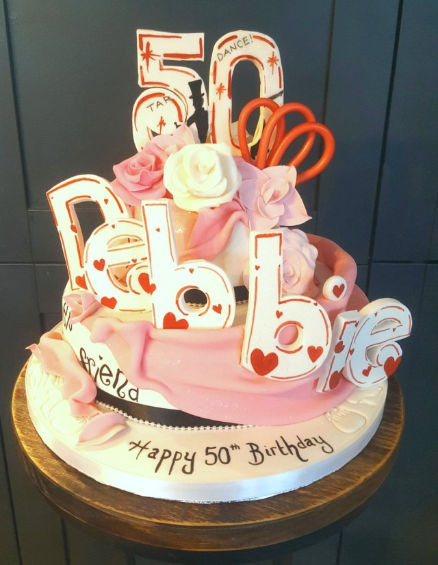 Happy Birthday Deborah Cake Danielle Gotheridge On Twitter Happy 50th Birthday Debbie Bond Xx