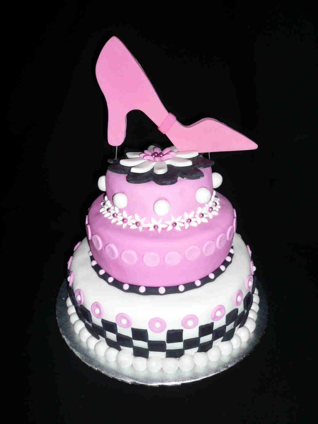 Happy Birthday Shoe Cake 12 Special Birthday Cakes With Shoes Photo Shoe Box Cake Shoe