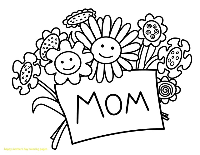 Happy Mothers Day Coloring Pages Coloring Page Splendi Mothers Day Coloring Sheets
