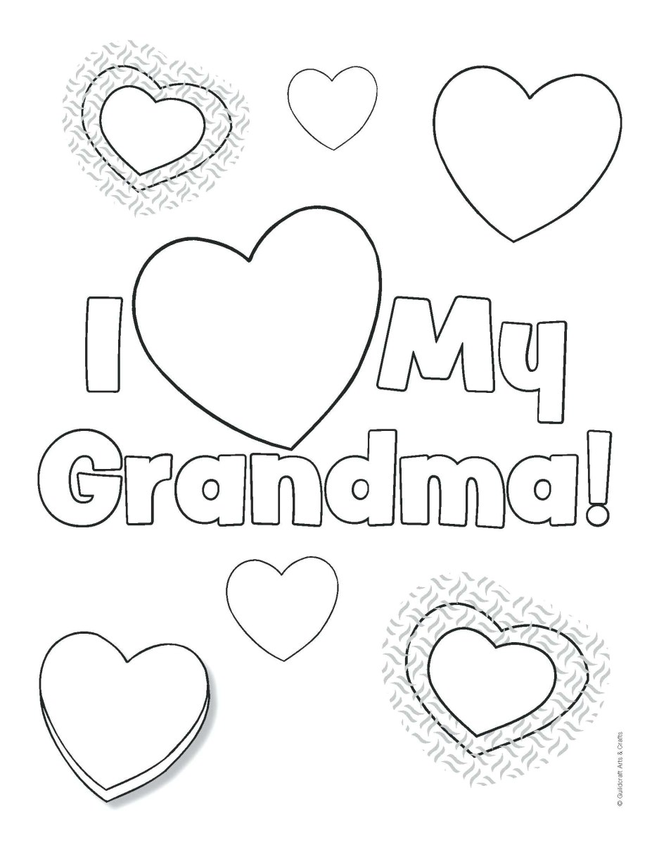 Happy Mothers Day Coloring Pages Happy Mothers Day Nana Printable