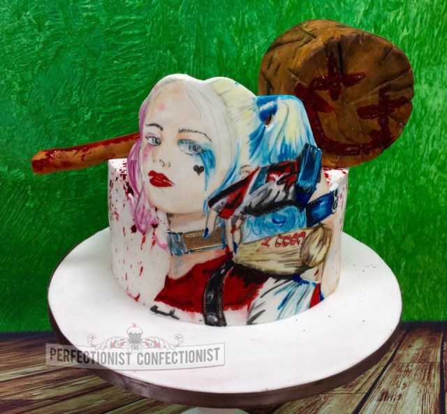 Harley Quinn Birthday Cake The Perfectionist Confectionist Ru Rose Harley Quinn Birthday Cake