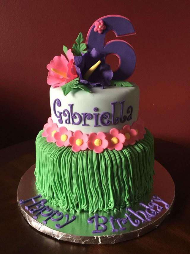 Hawaiian Birthday Cake American Girl Doll Kanani Hawaiian Birthday Cake Invitaciones