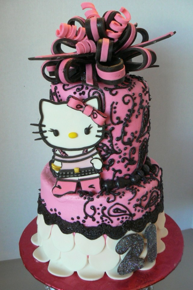 Hello Kitty Birthday Cakes Hello Kitty Birthday Cake Cakecentral
