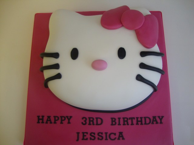 Hello Kitty Birthday Cakes Hello Kitty Face Cake Celebration Cakes Cakeology