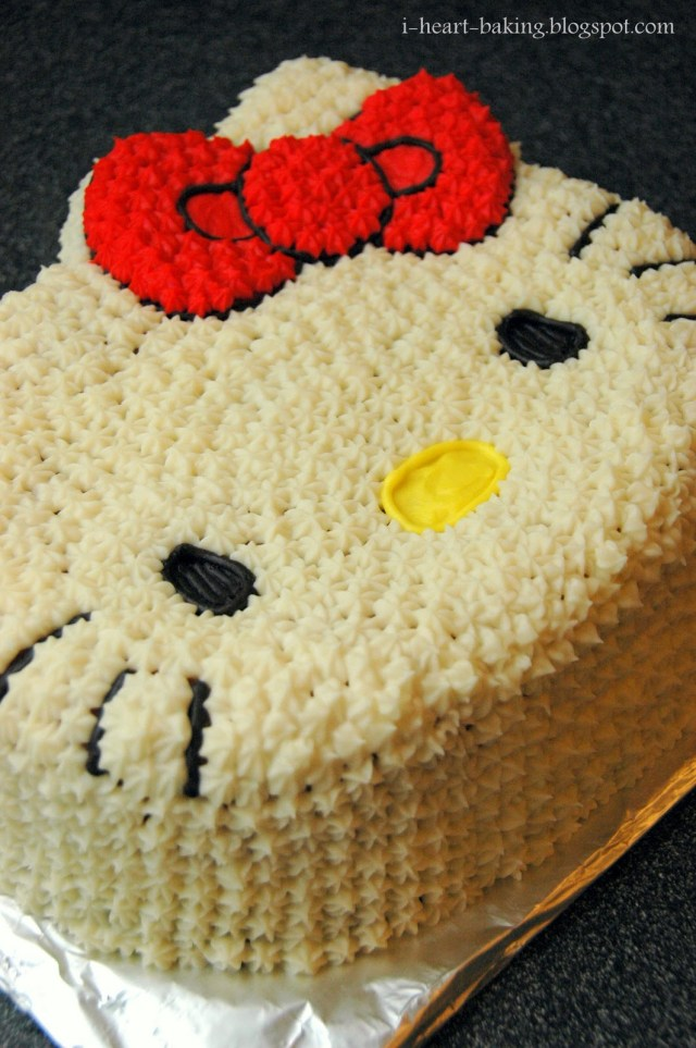 Hello Kitty Birthday Cakes I Heart Baking Hello Kitty Birthday Cake For Melodie