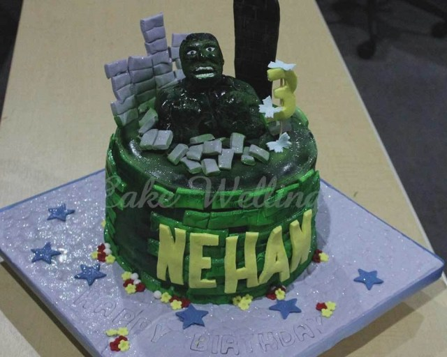 Hulk Birthday Cakes Hulk Birthday Cake With Name Colorfulbirthdaycakestk