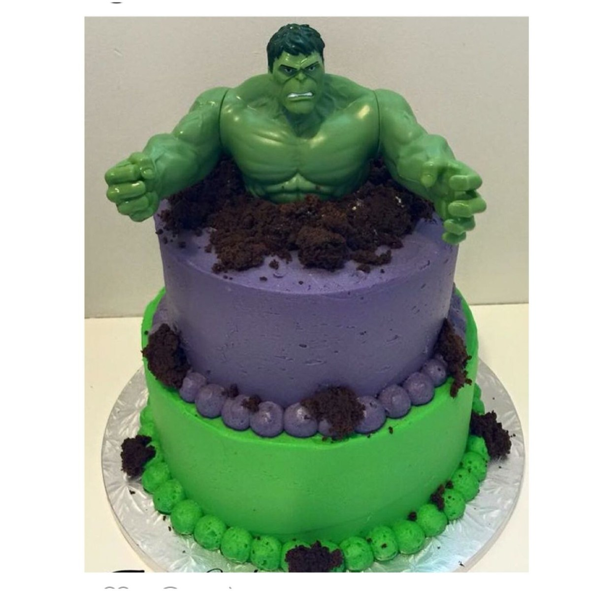 27+ Exclusive Picture of Hulk Birthday Cakes