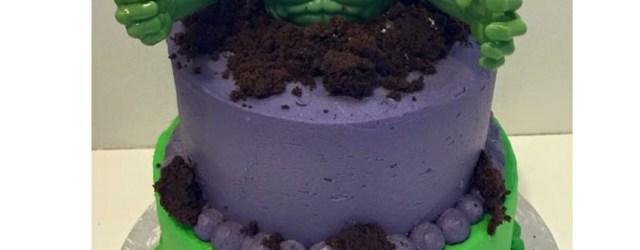 Hulk Birthday Cakes Hulk Cake Keegan Bday Pinte