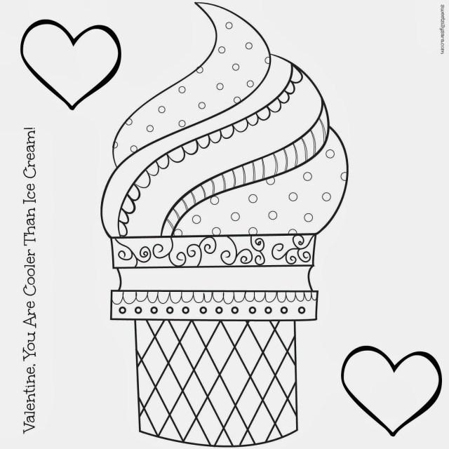 21+ Creative Photo of Ice Cream Coloring Pages - birijus.com