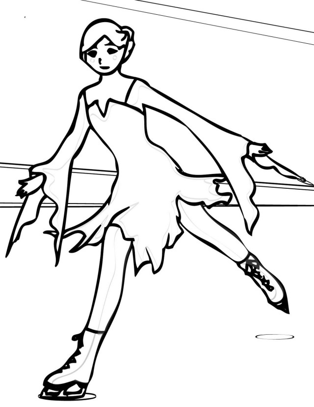 Ice Skating Coloring Pages Ice Skating Coloring Pages Learn To Coloring