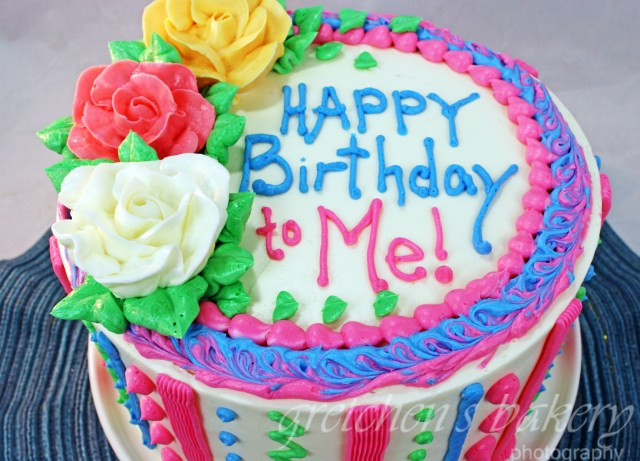 Images Of Happy Birthday Cakes How To Make A Birthday Cake Gretchens Bakery