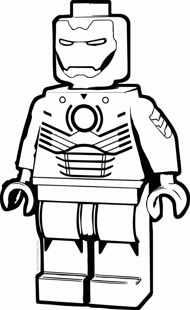 Lego Iron Man Coloring Pages - Coloring Home | 1044x640