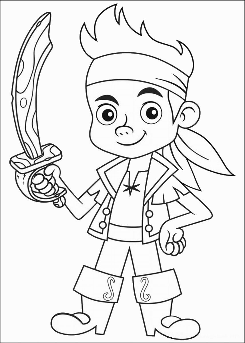 Jake And The Neverland Pirates Coloring Pages Jake And The ...