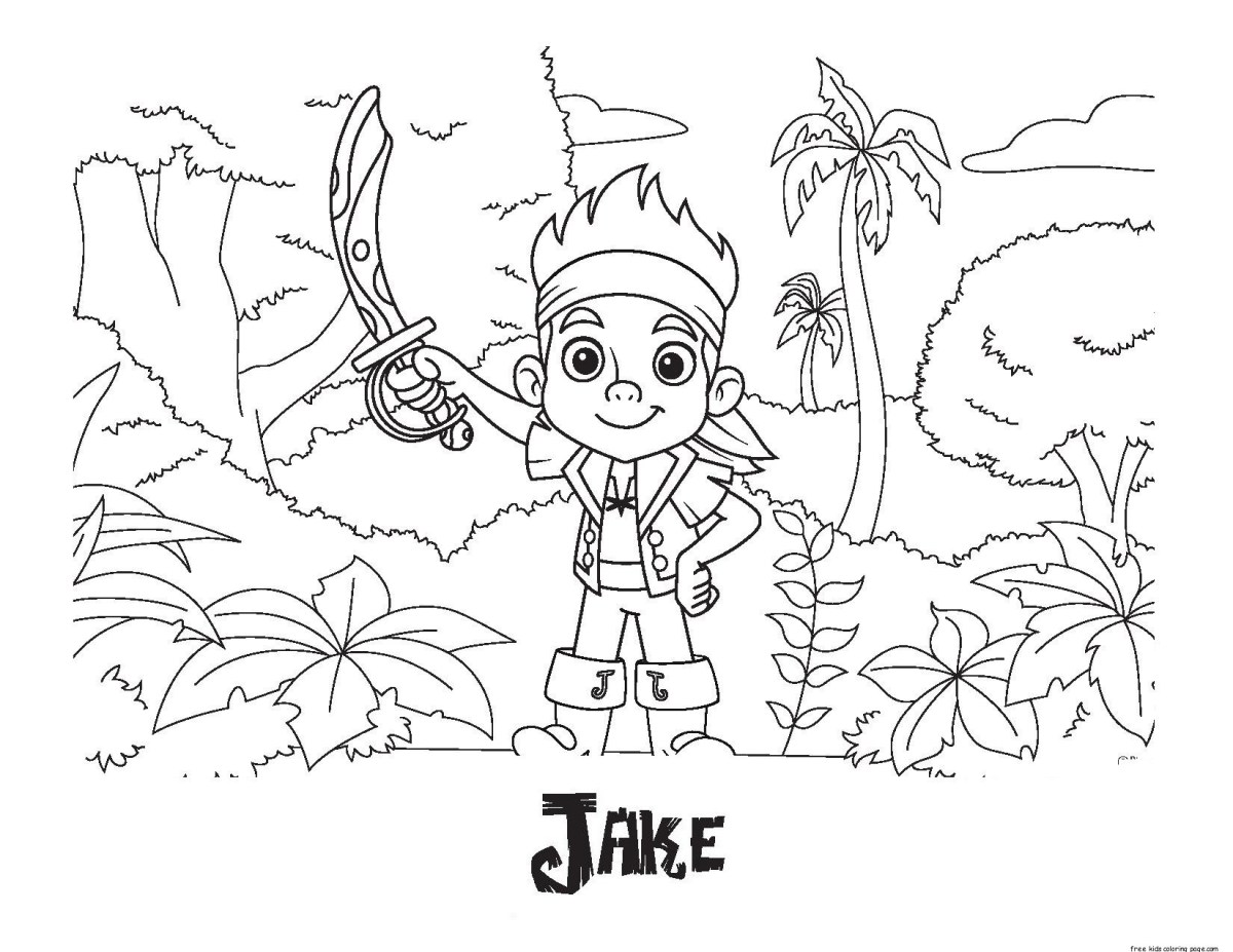 Printable Pirate Coloring Page 3 - Coolest Free Printables | 927x1200