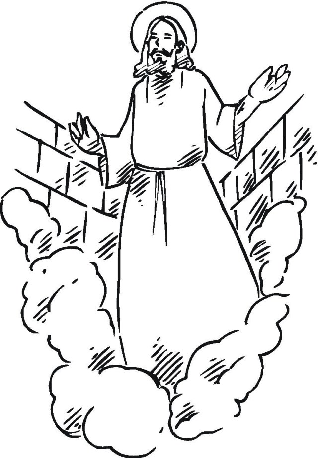 Jesus Coloring Page Free Printable Jesus Coloring Pages For Kids