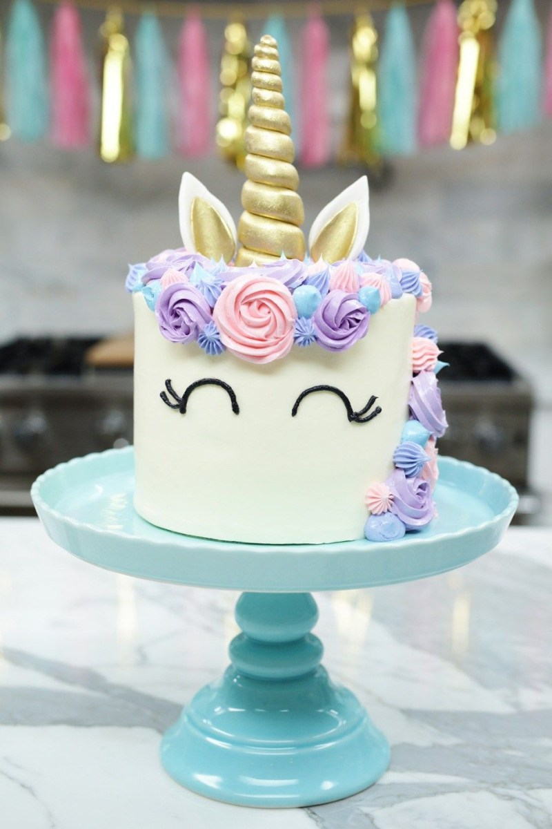 Amazing Kids Birthday Cake Recipes How To Make A Unicorn Cake Nerdy Funny Birthday Cards Online Inifofree Goldxyz