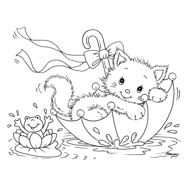 Kitty Cat Coloring Pages Exclusive Kitty Cat Coloring Pages L14270406 Jpg 1200 Painted Rocks