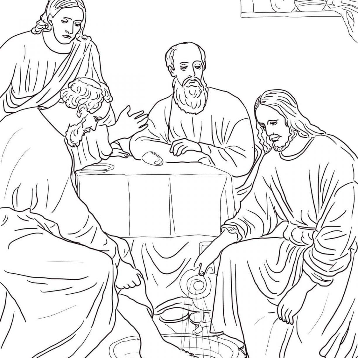photograph about Last Supper Coloring Pages Printable named Remaining Meal Coloring Website page Ultimate Meal Coloring Web site Fresh Absolutely free