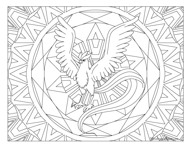 Legendary Pokemon Coloring Pages Legendary Pokemon Coloring Pages Coloring Pages For Kids