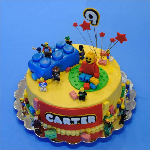 Lego Birthday Cake Ideas Lego Birthday Cake 1 Gray Barn Baking