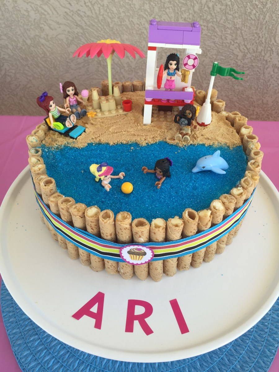 Awe Inspiring Lego Birthday Cake Ideas Lego Friends Birthday Cake Birthday Ideas Funny Birthday Cards Online Sheoxdamsfinfo