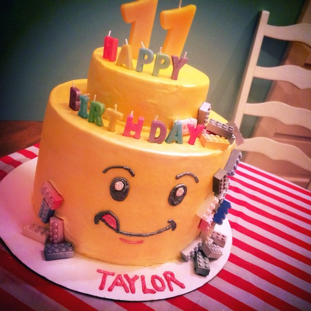 Lego Birthday Cake Ideas Kids Made With Buttercream Frosting Not Fondant