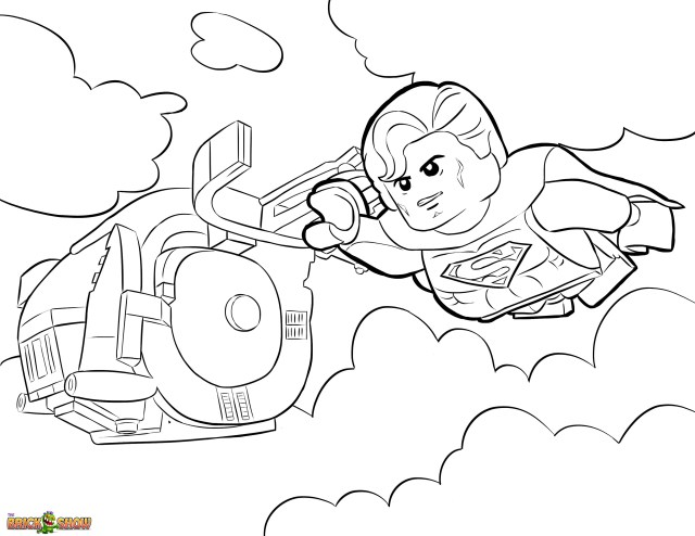 Lego Movie Coloring Pages The Lego Movie Coloring Page Lego Superman Printable Color Sheet Ruva