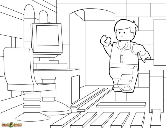 Lego Movie Coloring Pages Unusual Emmet Lego Movie Coloring Pages Salubrioushub