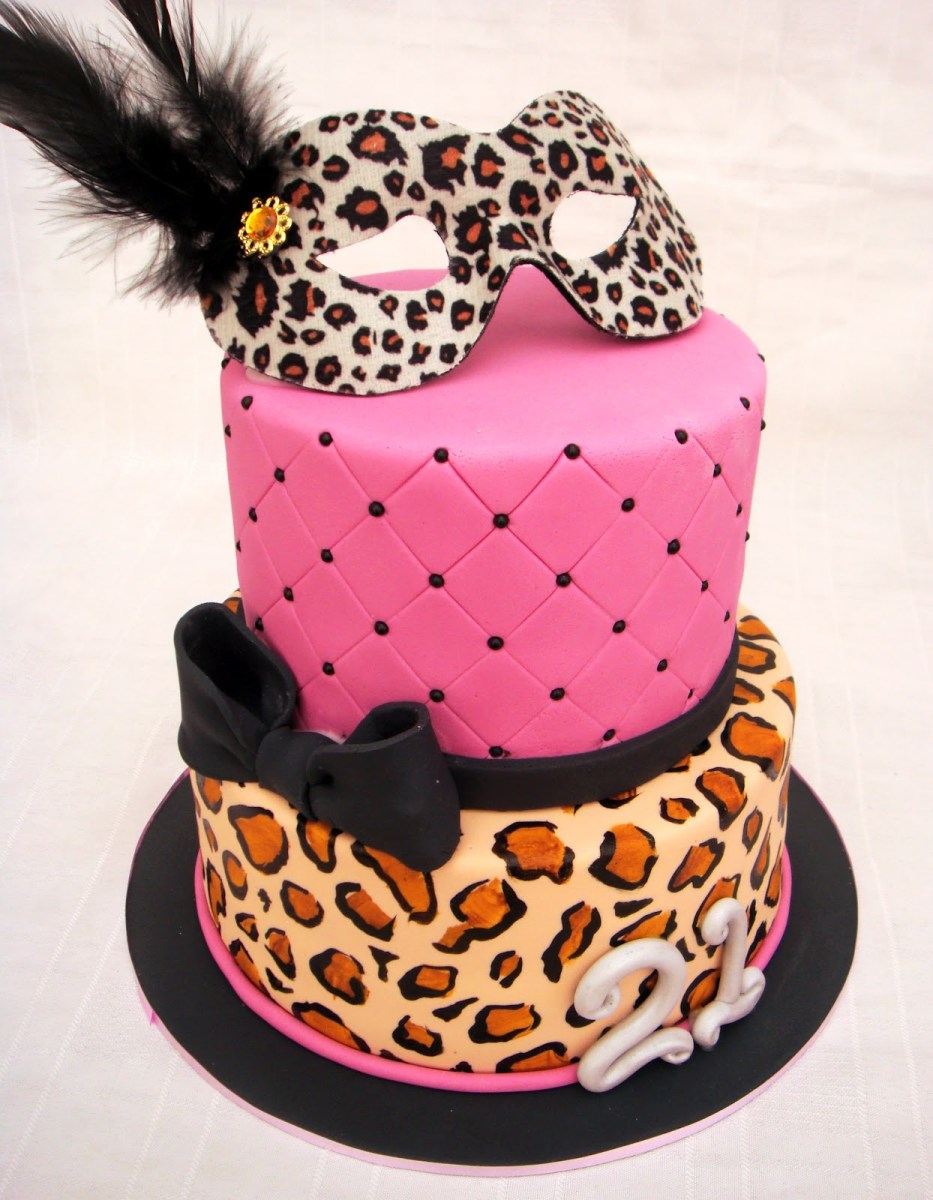 Wondrous Leopard Birthday Cake 10 Pink Leopard Print Cakes Ideas Photo Pink Funny Birthday Cards Online Aeocydamsfinfo