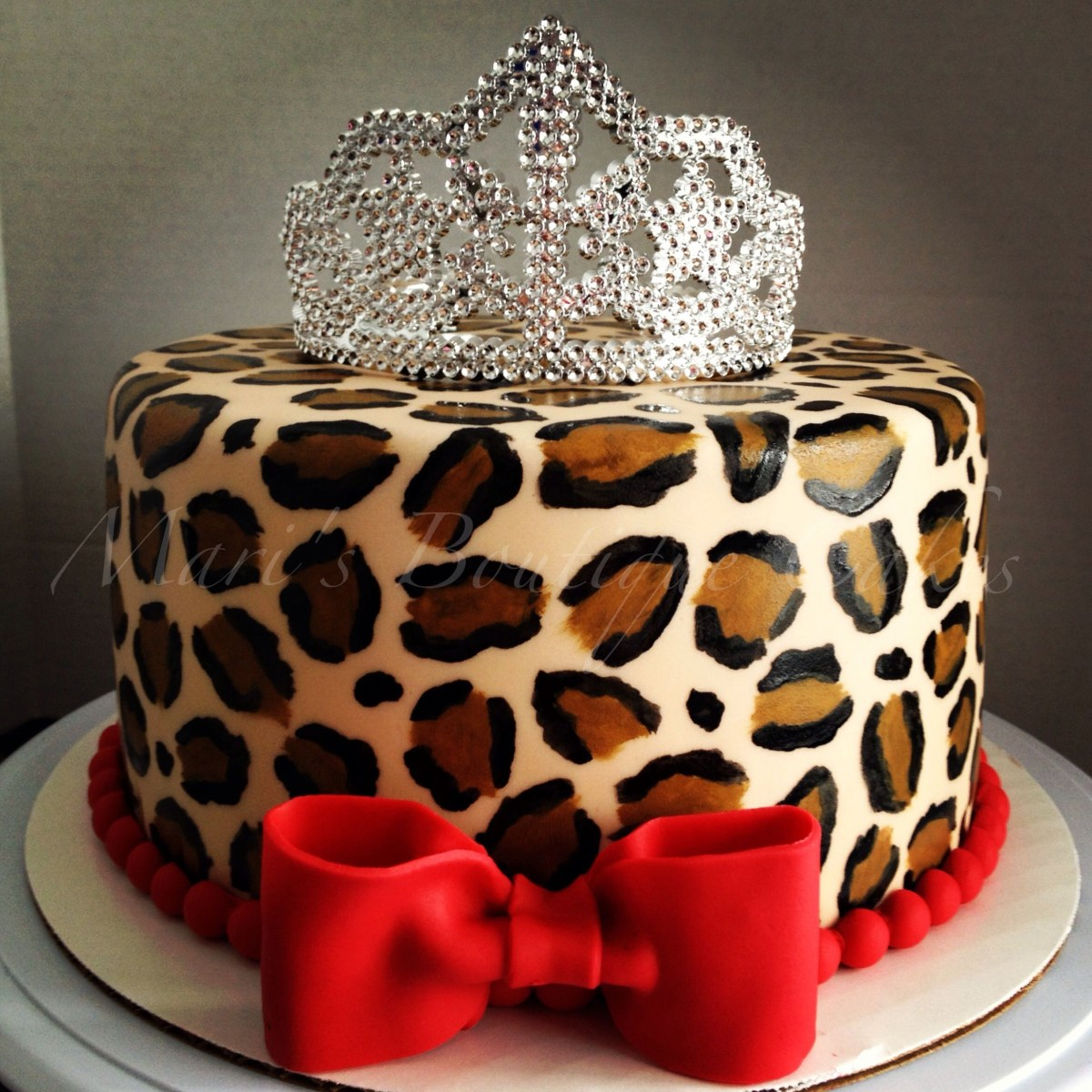 Outstanding Leopard Birthday Cake Leopard Print Cake For A Little Diva Maris Funny Birthday Cards Online Alyptdamsfinfo