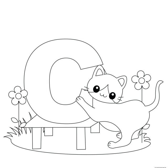 Letter A Coloring Pages Coloring Pages For The Letter S For Preschoolers Epic Abc Coloring