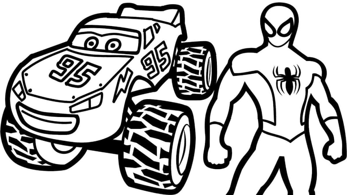 Lightning Mcqueen Coloring Page Cars 3 Lightning Mcqueen Coloring Page Printable Pages 2 Futurama Birijus Com