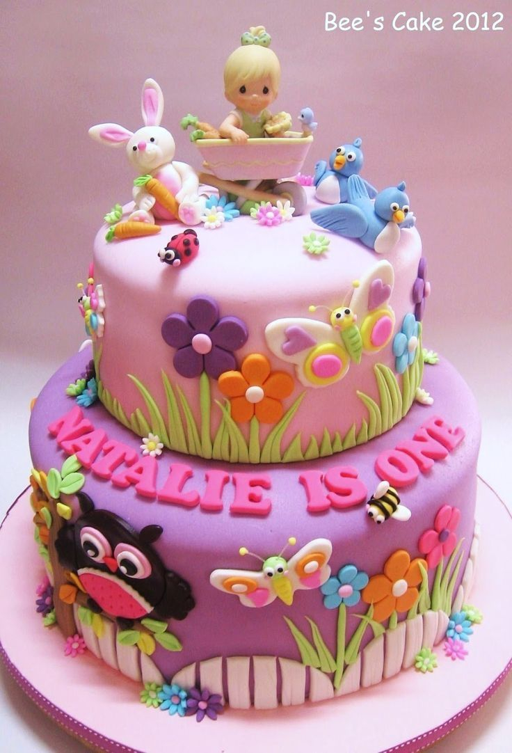 Incredible Little Girl Birthday Cakes Pin Mary Parks On Cakes In 2019 Cake Funny Birthday Cards Online Elaedamsfinfo