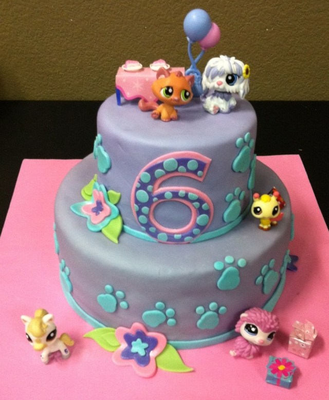 Littlest Pet Shop Birthday Cake Littlest Pet Shop Cake Cakecentral