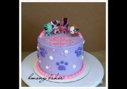 Littlest Pet Shop Birthday Cake Littliest Pet Shop Lps Cake Diy Cake Youtube